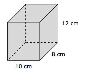 how to draw a rectangular prism is filled