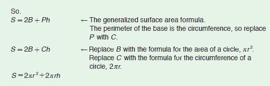 generalized surface area...