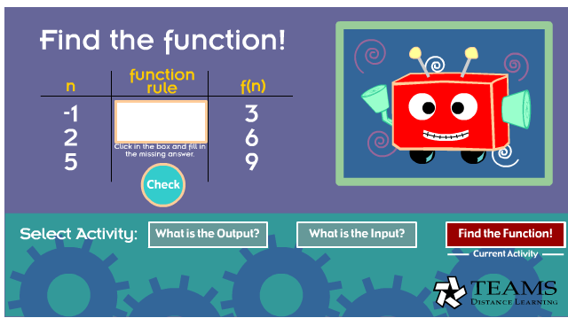 Find the function!