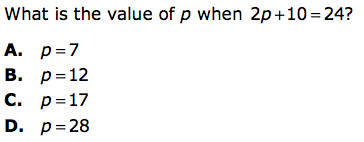 What is the value of P?