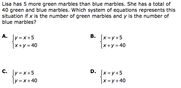 Algebraic Expressions Examples For 8th Grade Minnesota mca iii 8th ...