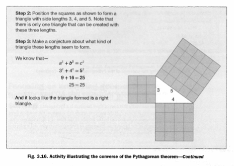 Converse of the Pythagorean Theorem .. continued