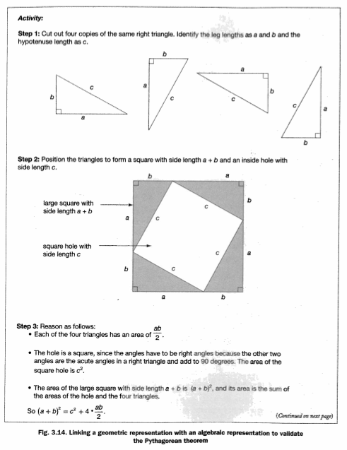 Worksheets Converse Of Pythagorean Theorem Worksheet 8 3 1pythagorean theorem scimathmn resource for proof