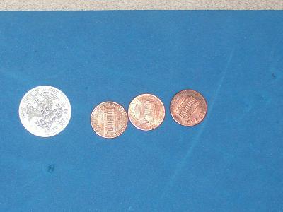 Kyra's coin count