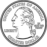 quarter (Washington face)