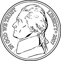 nickel (head)