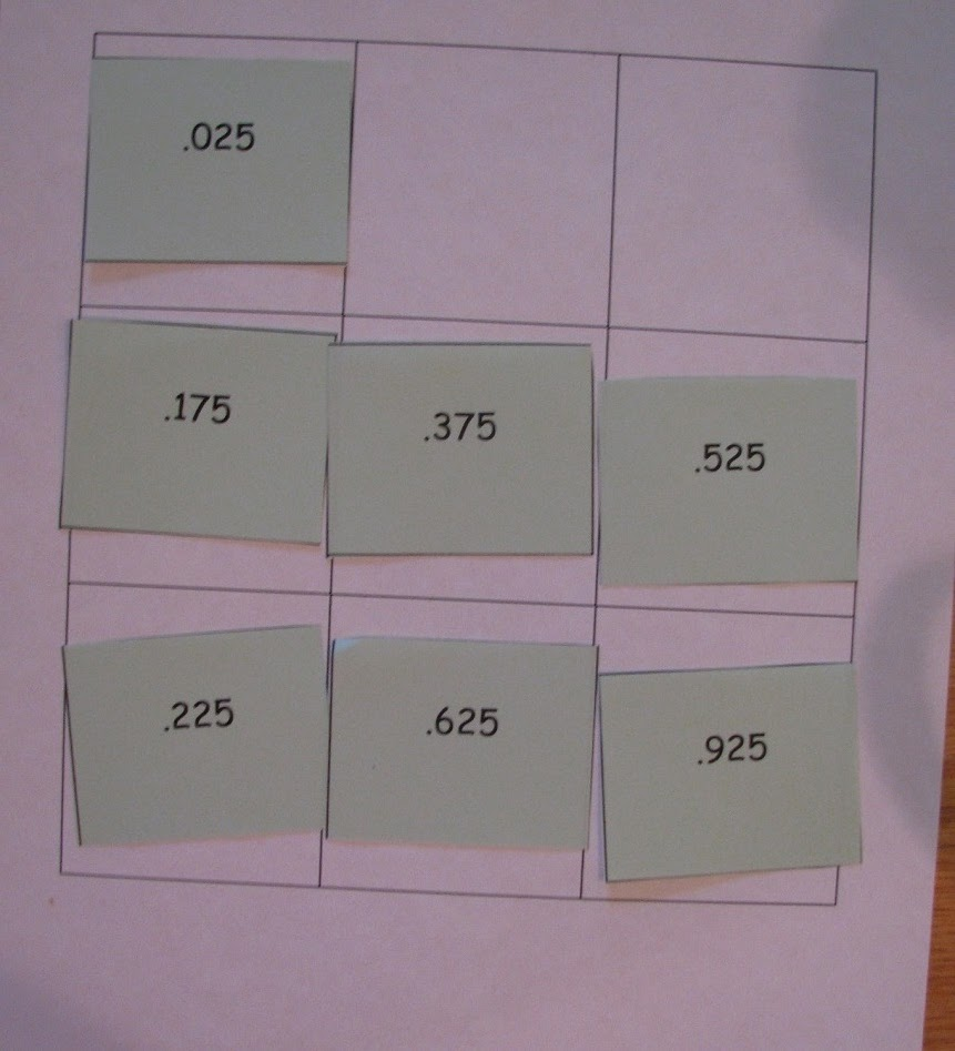 Game board for group 2