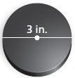 circumference of hockey puck