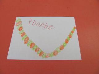 Phoebe's necklace pattern