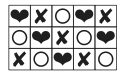 pattern with width of 5 squares
