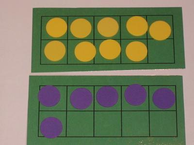 9 yellow + 6 purple