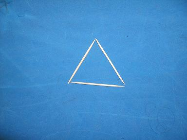 toothpick triangle