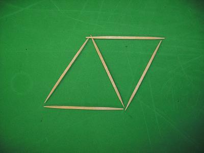 toothpick parallelogram