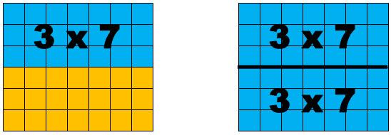 3 x 7 arrays