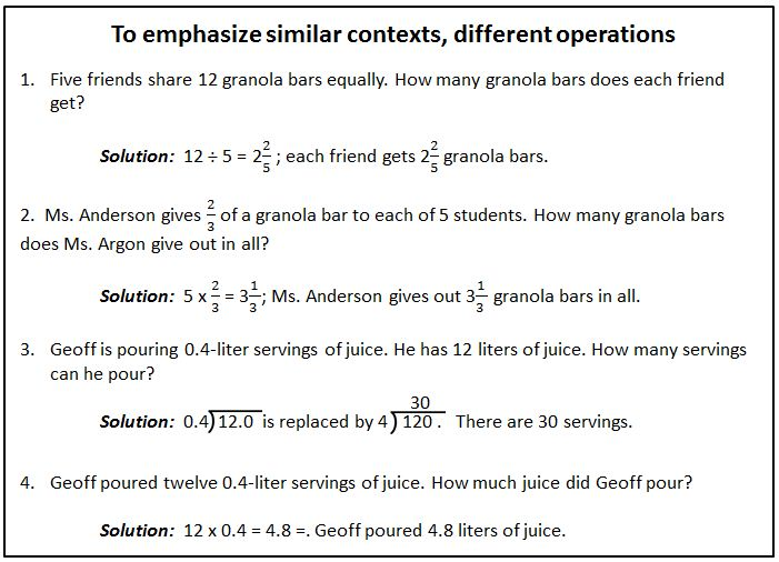 To emphasize similar contexts...