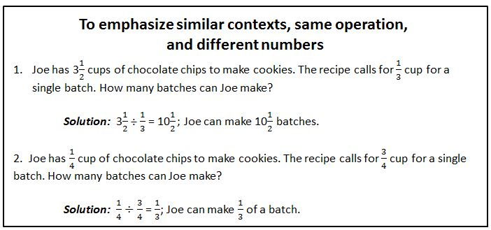 problem solving fraction operations