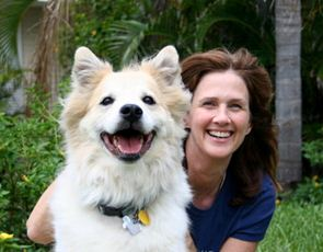 Bailey and a dog