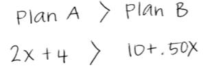 Plan A > Plan B