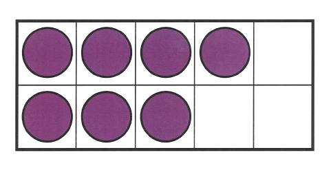 Tenframe Dots of same color